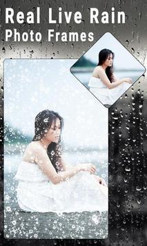 Real Live Rain Photo Frames screenshot 1