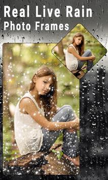 Real Live Rain Photo Frames screenshot 2