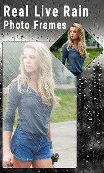 Real Live Rain Photo Frames screenshot 3