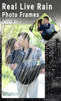 Real Live Rain Photo Frames screenshot 5