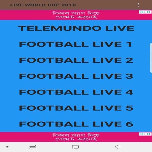 FIFA WC 2018 TELEMUNDO LIVE for Android - APK Download