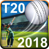 T20 Cricket Games 2018 HD 3D icon