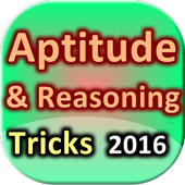 Aptitude Reasoning Tricks 2016 icon