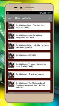 Lagu Gen Halilintar & Lirik screenshot 2