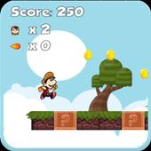 Super Jungle with Mario Junior icon