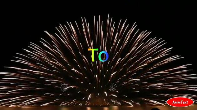 Animation Text Video AnimText apk screenshot
