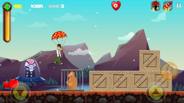 Ben and the 10 Aliens Adventure univers apk screenshot
