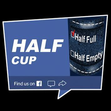 HalfCup Business poster