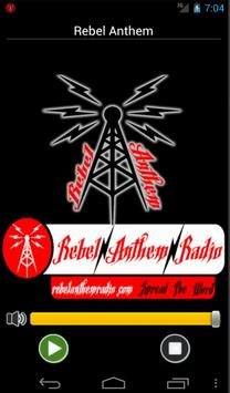 Rebel Anthem Radio poster