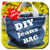 100 DIY Jeans BAG icon