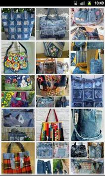 100 DIY Jeans BAG poster