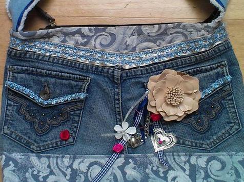 100 DIY Jeans BAG screenshot 10