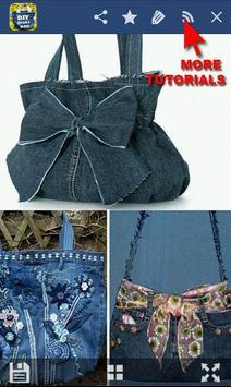 100 DIY Jeans BAG screenshot 5