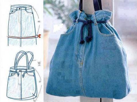 100 DIY Jeans BAG apk screenshot