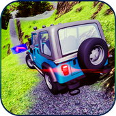 Jeep Driving Off-road Crazy Mountain Jeep icon