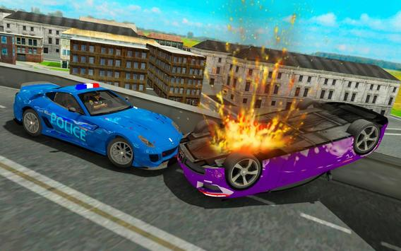 Police chase car simulator: Police cop car driving screenshot 3