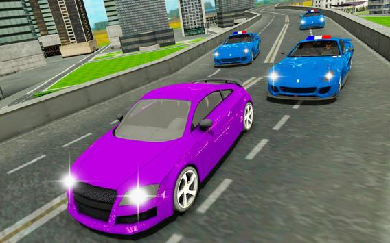Police chase car simulator: Police cop car driving screenshot 2