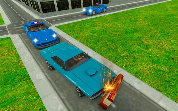 Police chase car simulator: Police cop car driving screenshot 4