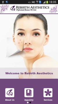 Rebirth Aesthetics poster