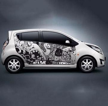 Car sticker design apk screenshot