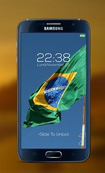 Brazil password Lock Screen poster