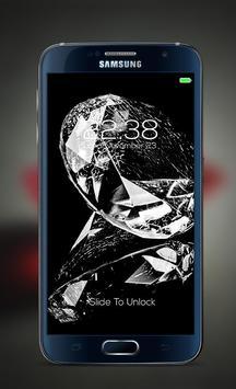 Diamond password Lock Screen poster