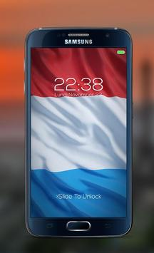 France password Lock Screen apk screenshot