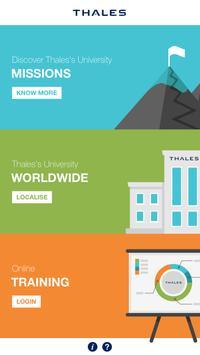 Thales Université Mobile poster