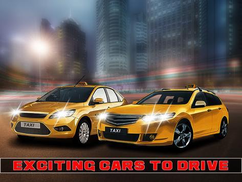 Airport cab 3D Simulator poster