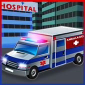 Ambulance Parking 3D Simulator icon