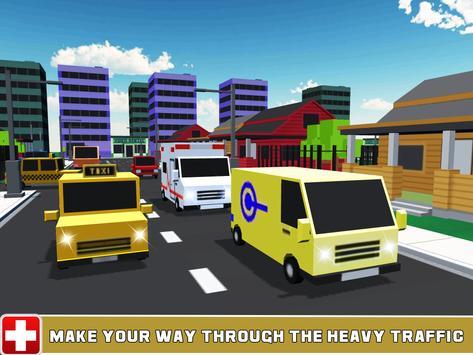Ambulance Parking 3D Simulator poster