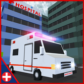 Ambulance Rescue Driving 3D icon