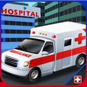 3D Ambulance Rescue 2017 icon