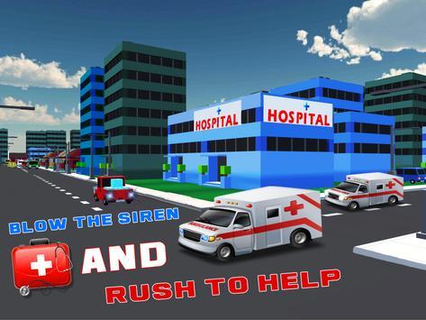 3D Ambulance Rescue 2017 poster