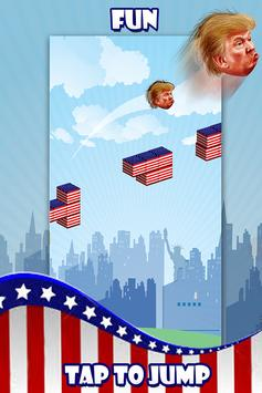 Trump Jump to White House 2016 poster