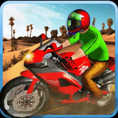 Dubai Desert Bike Racing: Highway Racer icon