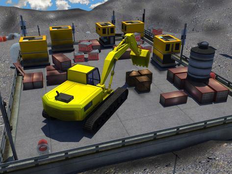 PK Excavator Truck: Backhoe Digging Simulator apk screenshot