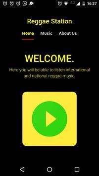 Reggae Station App poster