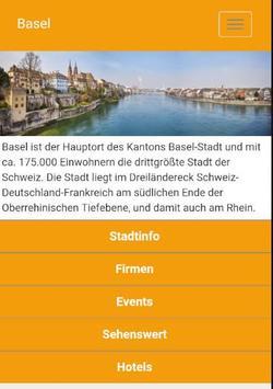 Basel - regiolinxxApp poster