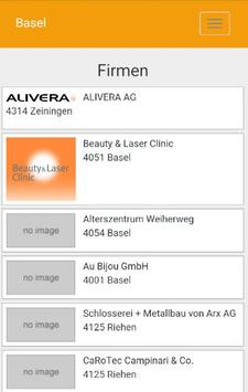 Basel - regiolinxxApp apk screenshot