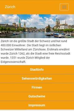 Zürich - regiolinxx poster