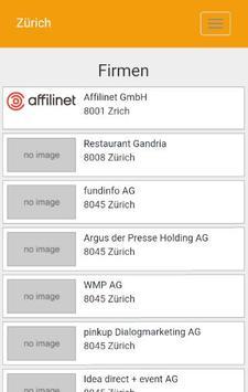 Zürich - regiolinxx screenshot 1