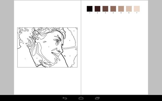 Paint by Numbers Free apk screenshot