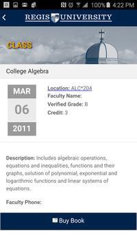 Regis University apk screenshot