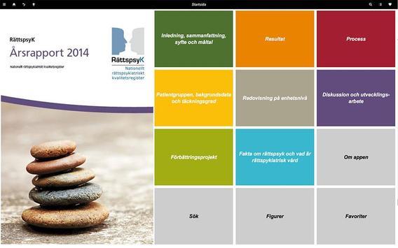RättspsyK -Årsrapport 2014 poster