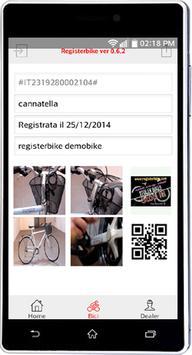 RegisterBike imagem de tela 4
