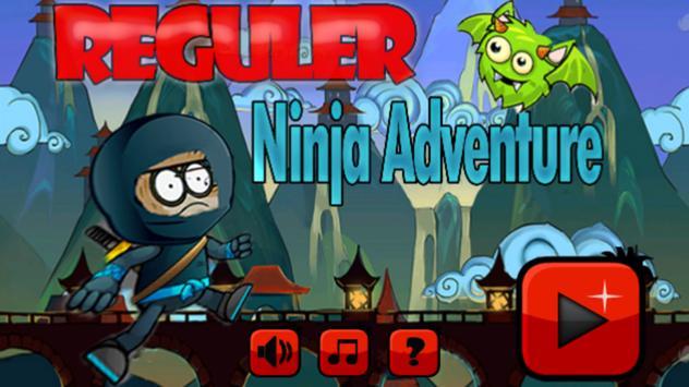 Reguler Ninja Adventure poster