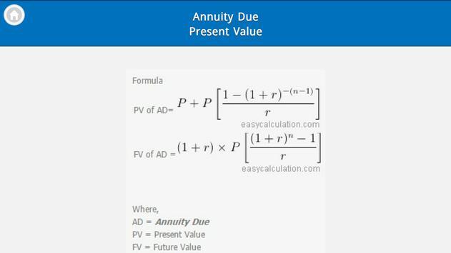 Finance Formulas Free screenshot 6