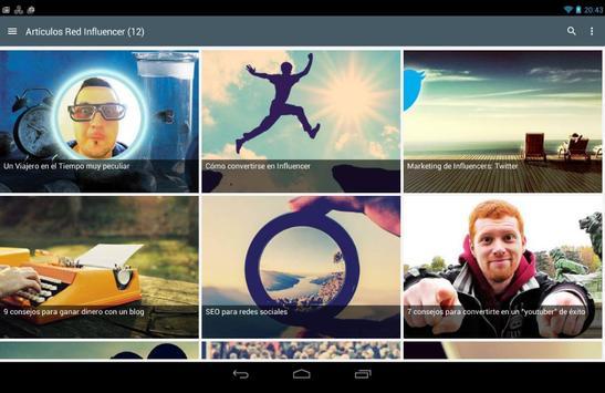 Influencer Network | Influencers Marketing apk screenshot