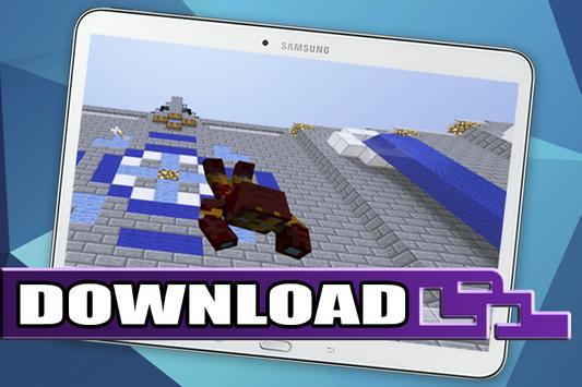 Mod Iron Man  for Minecraft PE apk screenshot